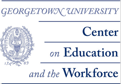 The Georgetown University Center on Education and the Workforce.  (PRNewsFoto/Georgetown University Center on Education and the Workforce)