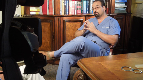 Dr. Victor Loria being interviewed by Miami News Station for his Pioneering new Male Enhancement and Penis ...