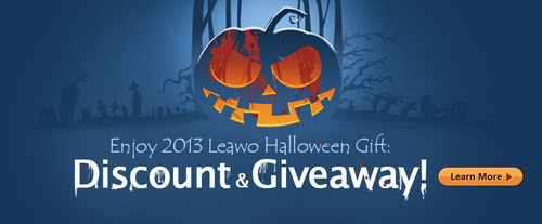 Leawo 2013 Halloween Giveaway and Special Offer.  (PRNewsFoto/Leawo Software Co., Ltd.)