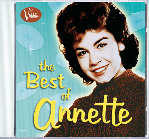 Best of Annette cover.  (PRNewsFoto/Walt Disney Records)