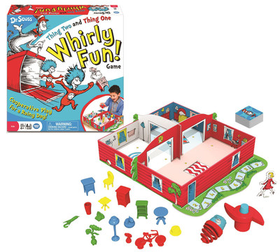 Wonder Forge(TM) Dr. Seuss(TM) Thing One and Thing Two Whirly Fun Game - NEW for 2016