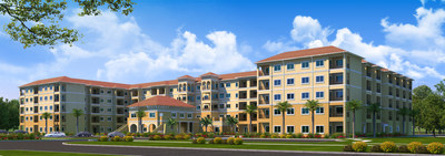 "Newly Expanded Discovery Village At The Forum in Fort Myers, Florida earns Grand Aurora Award for ""Best Seniors Housing Community On the Boards"""