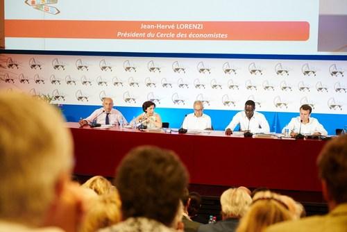 Jean-Herve Lorenzi, President of the Cercle des Economistes (PRNewsFoto/Rencontres Economiques) ...