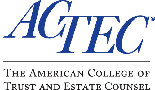 American College of Trust and Estate Counsel logo. (PRNewsFoto/American College of Trust and Estate Counsel) ...