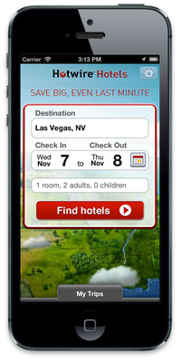 Hotwire Makes Booking Global Travel On-the-Go Even Easier with Launch of New Mobile App.  (PRNewsFoto/Hotwire.com)