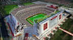 49ers Santa Clara Stadium.  (PRNewsFoto/Santa Clara Convention and Visitors Bureau)