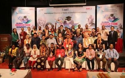 Global Education Summit at Marwah Studios (PRNewsFoto/AAFT)