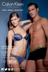Supermodel Nina Agdal Featured in Bare Necessities' Lingerie Campaign for Calvin Klein.  (PRNewsFoto/Bare Necessities)
