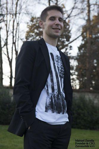 Manuel Zanella - Founder and CEO, Zeromobile s.r.l (PRNewsFoto/Zeromobile/ChatSim)