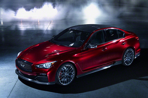 Infiniti Q50 Eau Rouge. (PRNewsFoto/Infiniti Motor Company Ltd.) (PRNewsFoto/INFINITI MOTOR COMPANY LTD.)