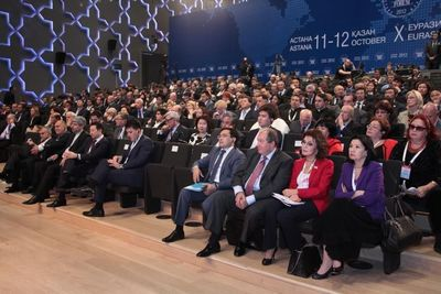 The 11th Eurasian Media Forum (EAMF) Will Open in the Kazakh Capital City of Astana on the 25th of April, 2013