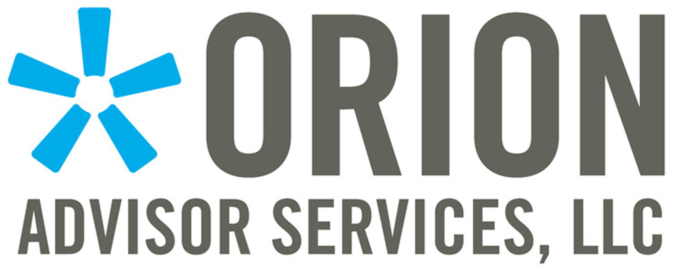 Orion Advisor Services, LLC. (PRNewsFoto/Orion Advisor Services, LLC) (PRNewsFoto/ORION ADVISOR SERVICES, LLC)