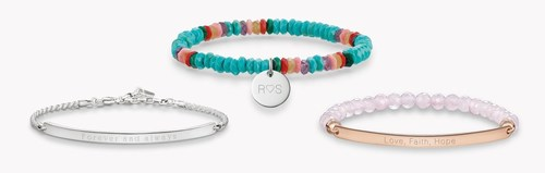 Bracelets and pendants manifesting the bond between two soul mates. Instant personalization is free of charge -  ...