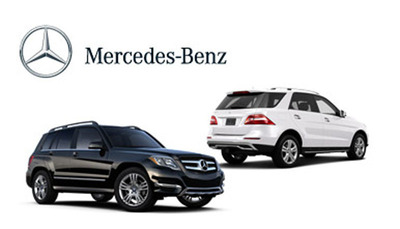 Compare two very capable Mercedes-Benz SUVs today.  (PRNewsFoto/Loeber Motors)