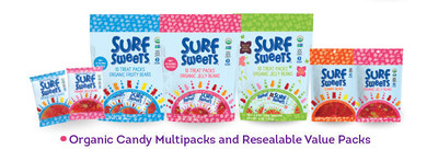 For families with food allergies, it makes life easier to bring trusted allergy-friendly brands on-the-go. Surf Sweets has made this easier by putting its most popular candies like Gummy Bears and Organic Jelly Beans into 6 ounce value packs with a resealable closure, perfect for portion controlled snacking and travel. Other new items are the Surf Sweets organic candy multipacks for Organic Fruity Bears and Organic Jelly Beans. Each pack contains 10 individually wrapped 0.5 ounce packs of candy that are perfect for an on-the-go snack or for sharing among friends or classmates. There is even a pastel Springtime multipack.