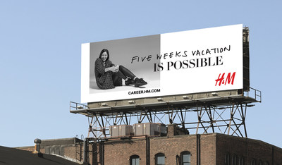 """Billboard, H&M Place of """"Possible Recruiting"""" Campaign"""