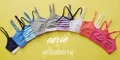 Aerie Partners With Tween Lingerie Start-up Yellowberry For Limited-Edition Collection; Aerie For Yellowberry
