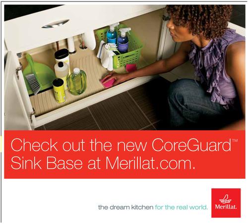 Merillat Introduces the Revolutionary CoreGuard(TM) Sink Base