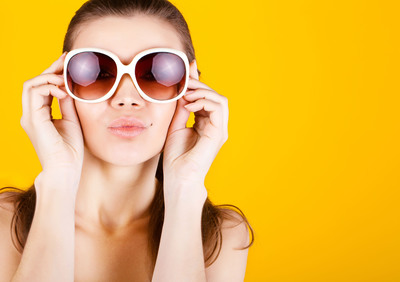 Protect eyes from harmful UV rays by wearing sunglasses when outside in the sun.