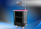 Highly Flexible Mobile Equipment Rack from Optima Stantron Protects Electronics Systems.  (PRNewsFoto/Elma Electronic Inc.)