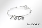 PANDORA Jewelry Introduces Sparkling Letter Pendants.  (PRNewsFoto/PANDORA Jewelry)