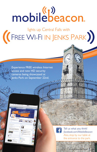 Mobile Beacon Lights Up Jenks Park: A Central Falls Free Wi-Fi Initiative