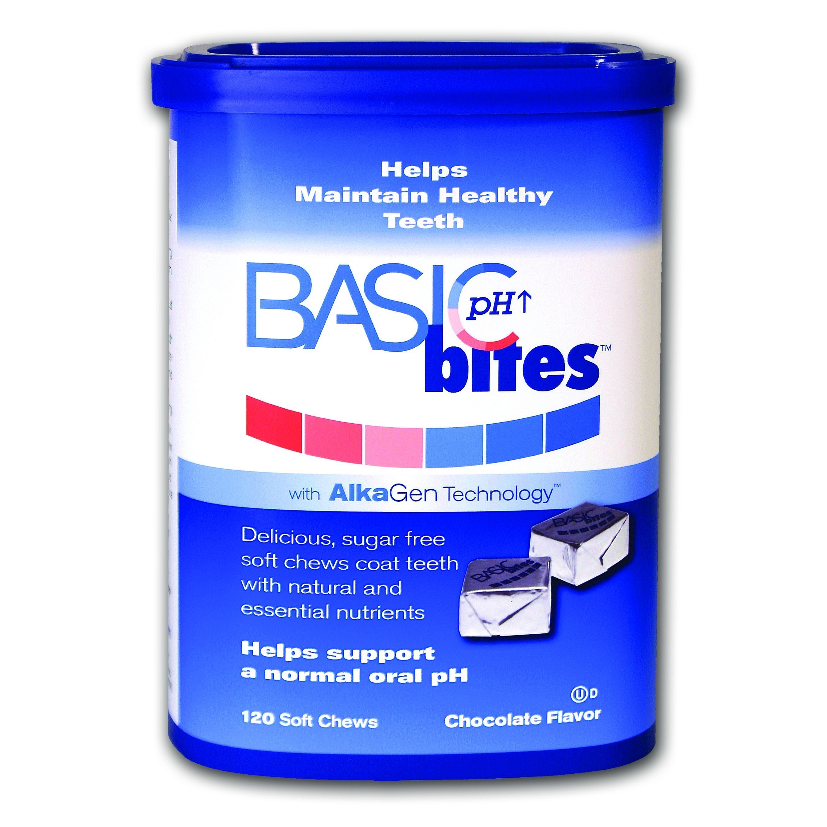 BasicBites: The Seriously Delicious Oral Care Breakthrough. 120ct. Soft Chew Carton