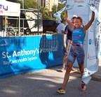 Sarah Haskins, winner 2016 St. Anthony's Triathlon, St. Petersburg, FL