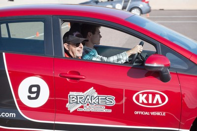 Kia and B.R.A.K.E.S. Teen Pro-Active Driving School extend multiyear partnership.