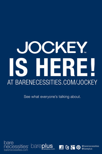 Bare Necessities Teams Up With Jockey to Launch New Online Boutique at BareNecessities.com