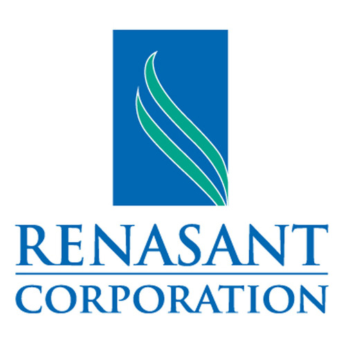 Renasant Corporation logo.  (PRNewsFoto/Renasant Corporation)