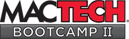 MacTech BootCamp II Logo. (PRNewsFoto/MacTech) (PRNewsFoto/MACTECH)