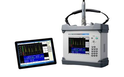 The PIM Master MW82119A portable PIM analyzer from Anritsu Company now has remote control capability.  (PRNewsFoto/Anritsu Company)