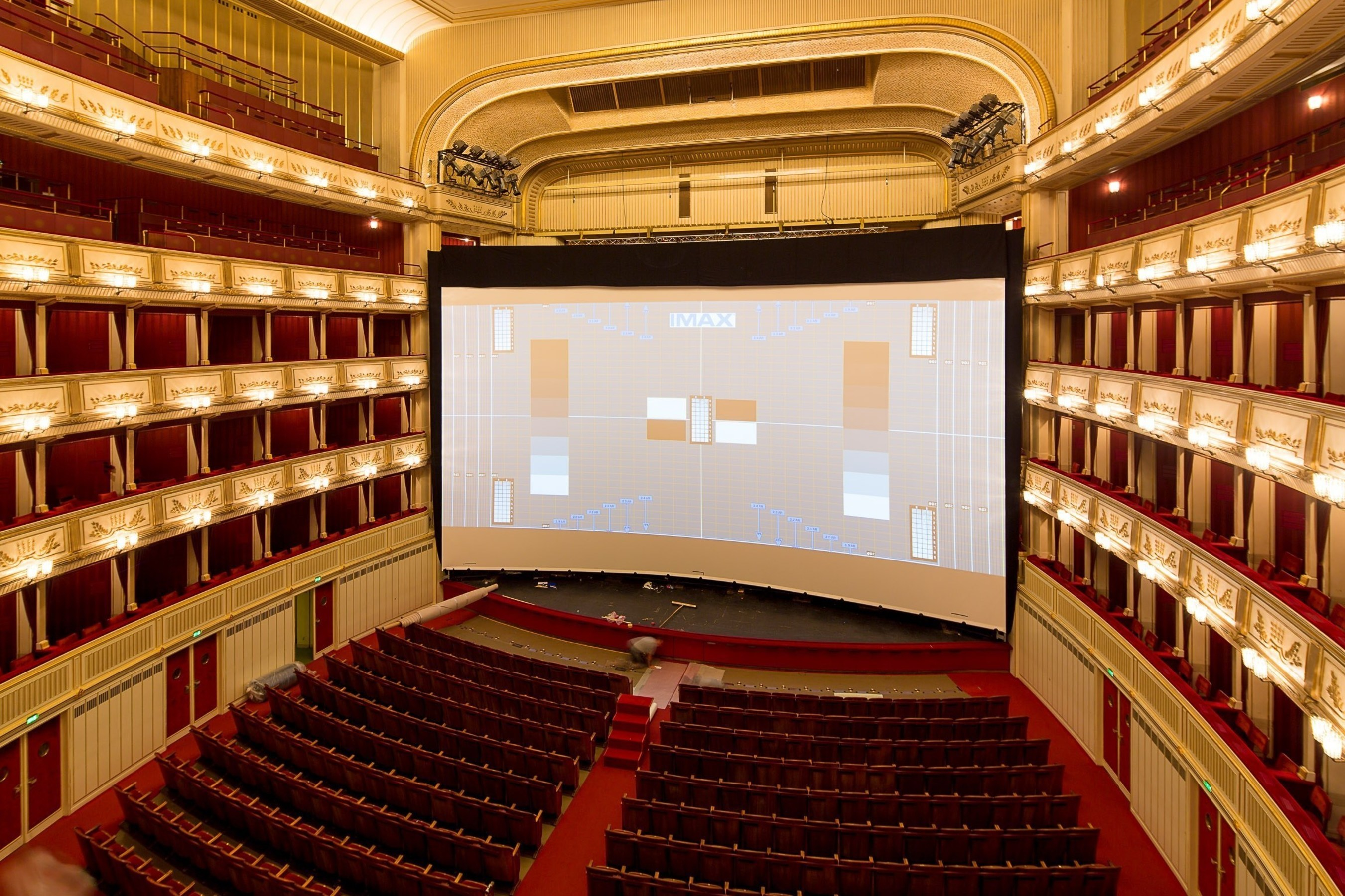 IMAX' Transforms Vienna State Opera House For July 23 World Premiere Of Paramount Pictures And Skydance's Mission: Impossible - Rogue Nation