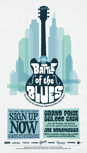 Guitar Center's Battle of the Blues Launches Sixth Annual Nationwide Search for the Next Great