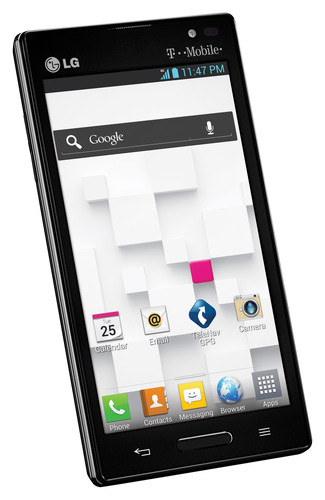 LG Optimus L9 from T-Mobile.  (PRNewsFoto/LG Electronics USA)