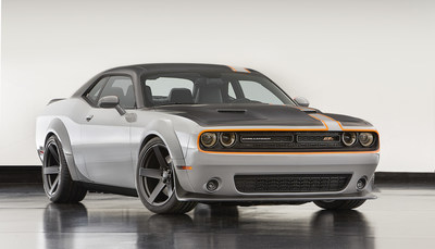 Dodge Challenger GT AWD Concept is among the Mopar-modified vehicles showcased at SEMA 2015.