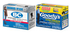 "The release of the new packages of BC and Goody's Headache Powders is a part of the Pick A Powder campaign (www.pickapowder.com) in which Trace Adkins and Richard Petty have been competing in a friendly rivalry. The two celebrities have gone head-to-head in each other's ""worlds"" over their favorite pain relief powder. A percentage of sales will be contributed on behalf of BC and Adkins to Wounded Warrior Project and on behalf of Goody's and Petty to Victory Junction.  (PRNewsFoto/GlaxoSmithKline Consumer Healthcare)"
