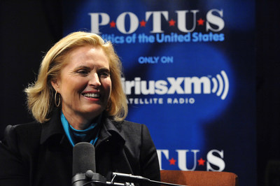 "Ann Romney in conversation with SiriusXM host Julie Mason for ""Leading Ladies"" special, premiering on POTUS channel on October 9th"