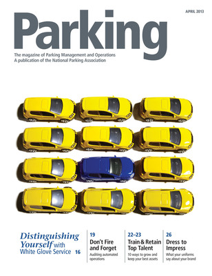 Parking Magazine, National Parking Association.  (PRNewsFoto/National Parking Association)