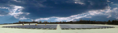 IVC US Advances Sustainability with Solar from URE.  (PRNewsFoto/United Renewable Energy, LLC)
