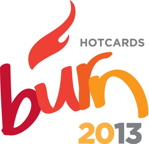 Hotcards Burn logo. (PRNewsFoto/Fathom)