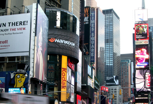 Hankook Tire Unveils Massive Billboard in Heart of Times Square