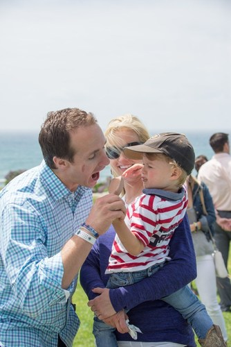 Brittany and Drew Brees invite you to chill out for charity this summer as they team up with So Delicious(R) Dairy Free to raise funds for the Brees Dream Foundation. SoDeliciousDairyFree.com (PRNewsFoto/So Delicious(R) Dairy Free)