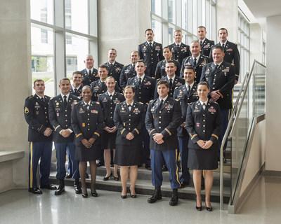 Indiana University - Institute for Defense and Business Strategic Studies Fellows Program (IU-IDB SSFP) inaugural graduating class.