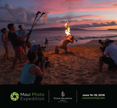 Four Seasons Resort Maui Hosts Maui Photo Expedition June 14-19, 2016