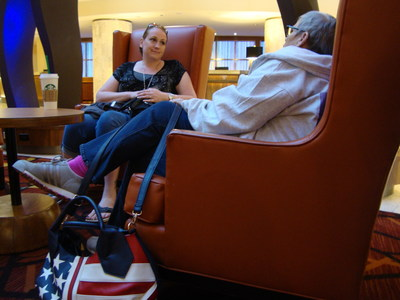 Caregivers enjoyed a relaxing retreat and chance to bond with one another.