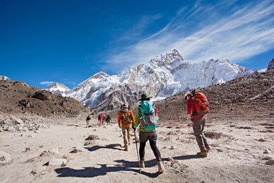 REI Adventures: At the gateway to Everest Base Camp, Nuptse, Lhotse and a host of the world's tallest peaks welcome you.