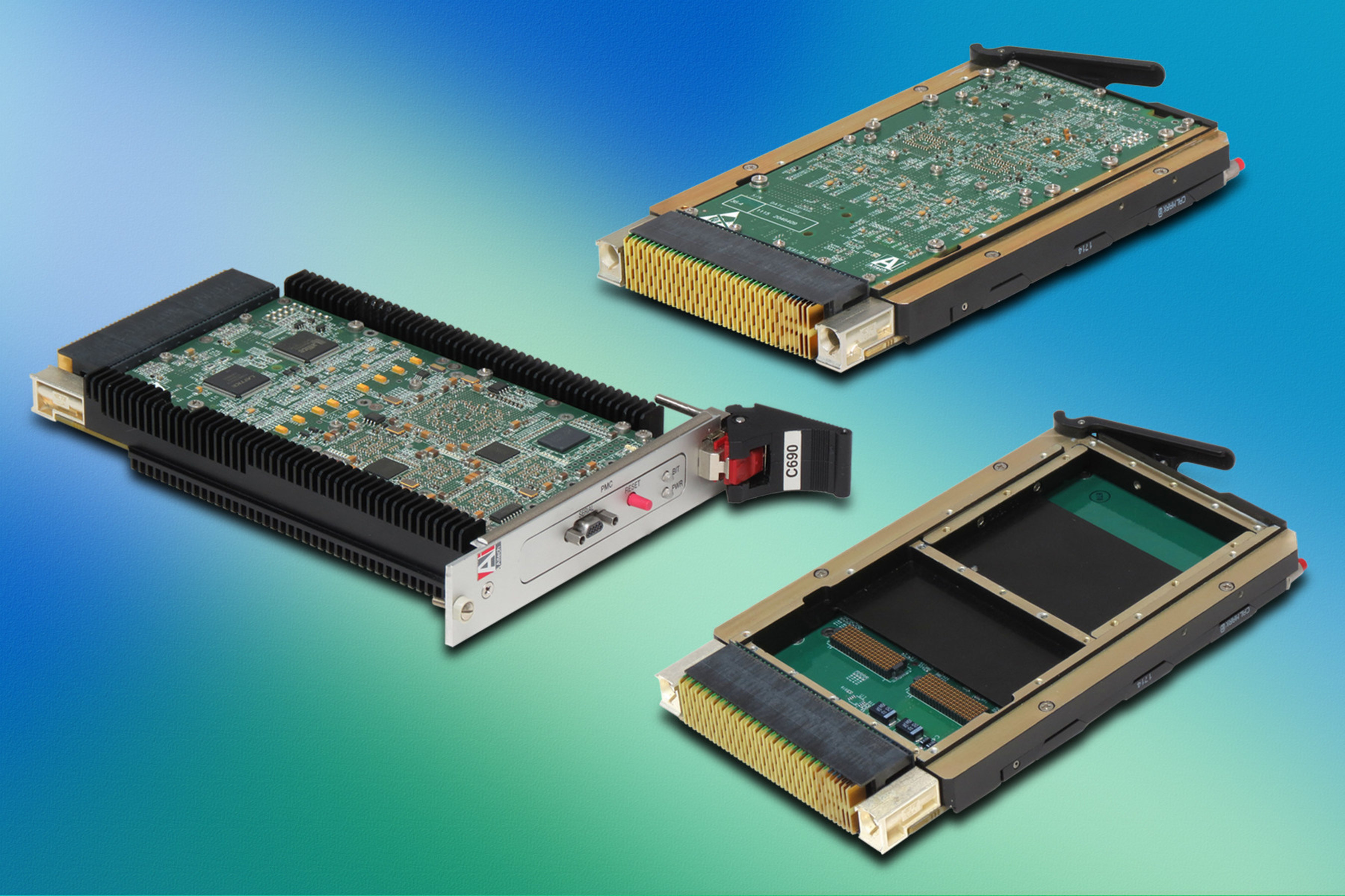 Powerful Switching and Fast Data Transfers in Rugged 3U VPX GigE and PCIe Switches from Aitech