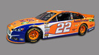 Rendering of the AutoTrader.com Team Penske No. 22 Ford Fusion that will be driven by NASCAR Sprint Cup driver Joey Logano at the July 13 race at New Hampshire Motor Speedway.  (PRNewsFoto/AutoTrader.com)